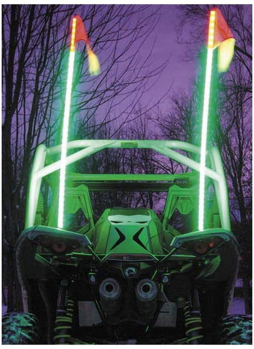 XKchrome Advanced App Control LED Whip Light Kit for 4x4 Offroad UTV ATV Can-Am Polaris Razr Yamaha