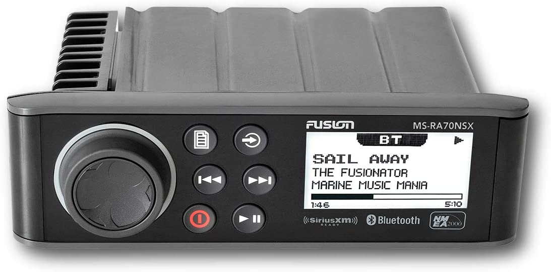 Fusion MS-RA70NSX NMEA 2000 SiriusXM-Ready Marine Entertainment System