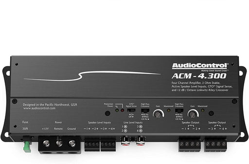 AudioControl ACM-4.300 50W x 4 Compact Amplifier