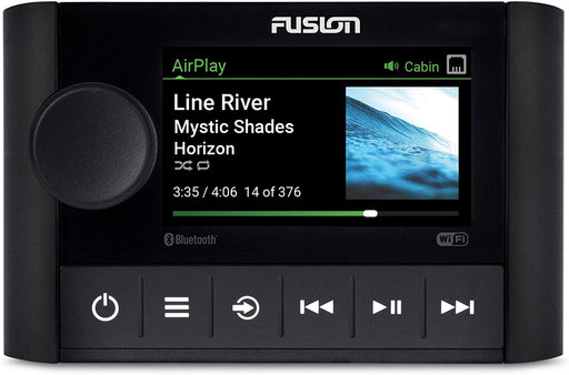 Fusion Apollo SRX400, Marine Zone Stereo with Built-in Wi-Fi, a Garmin Brand