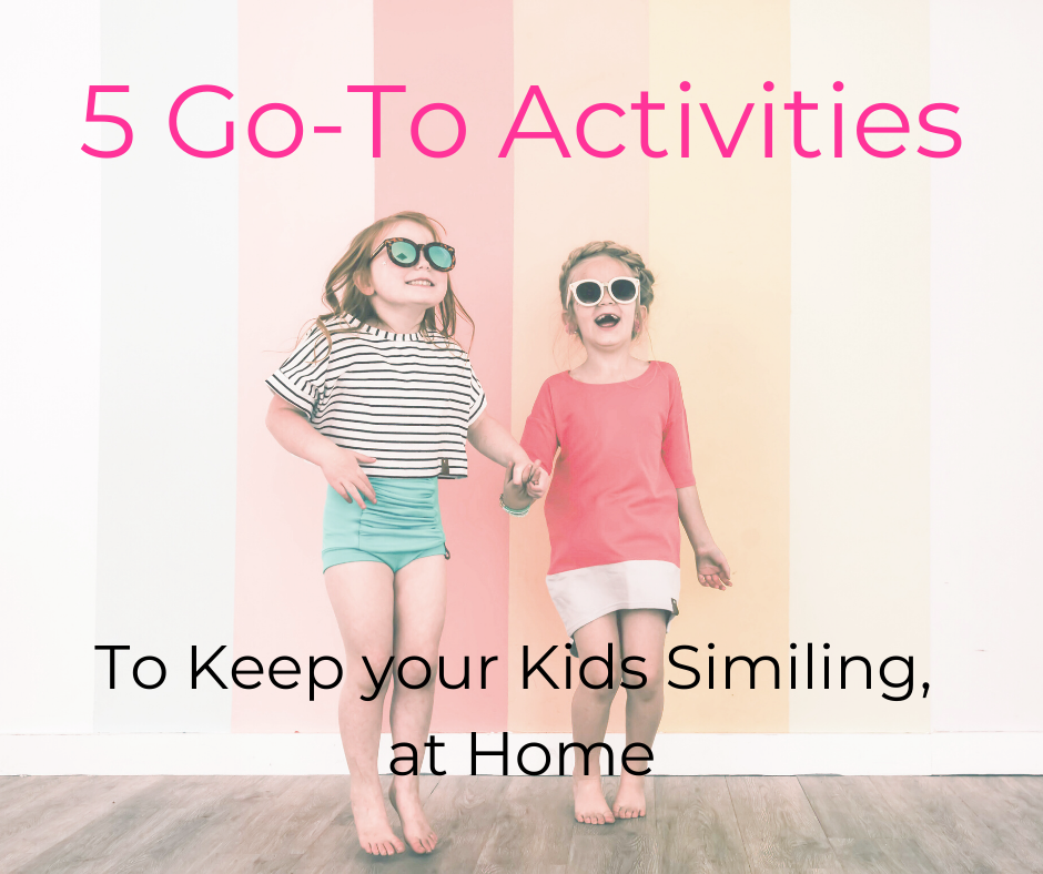 5 Kid-Friendly Activities You Can Do At Home!