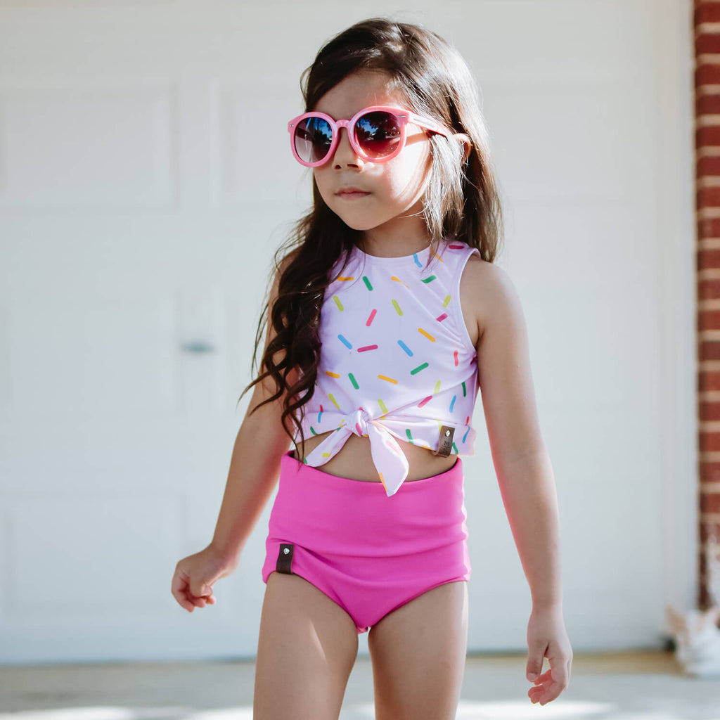 Allie Swim Tank - Sprinkles