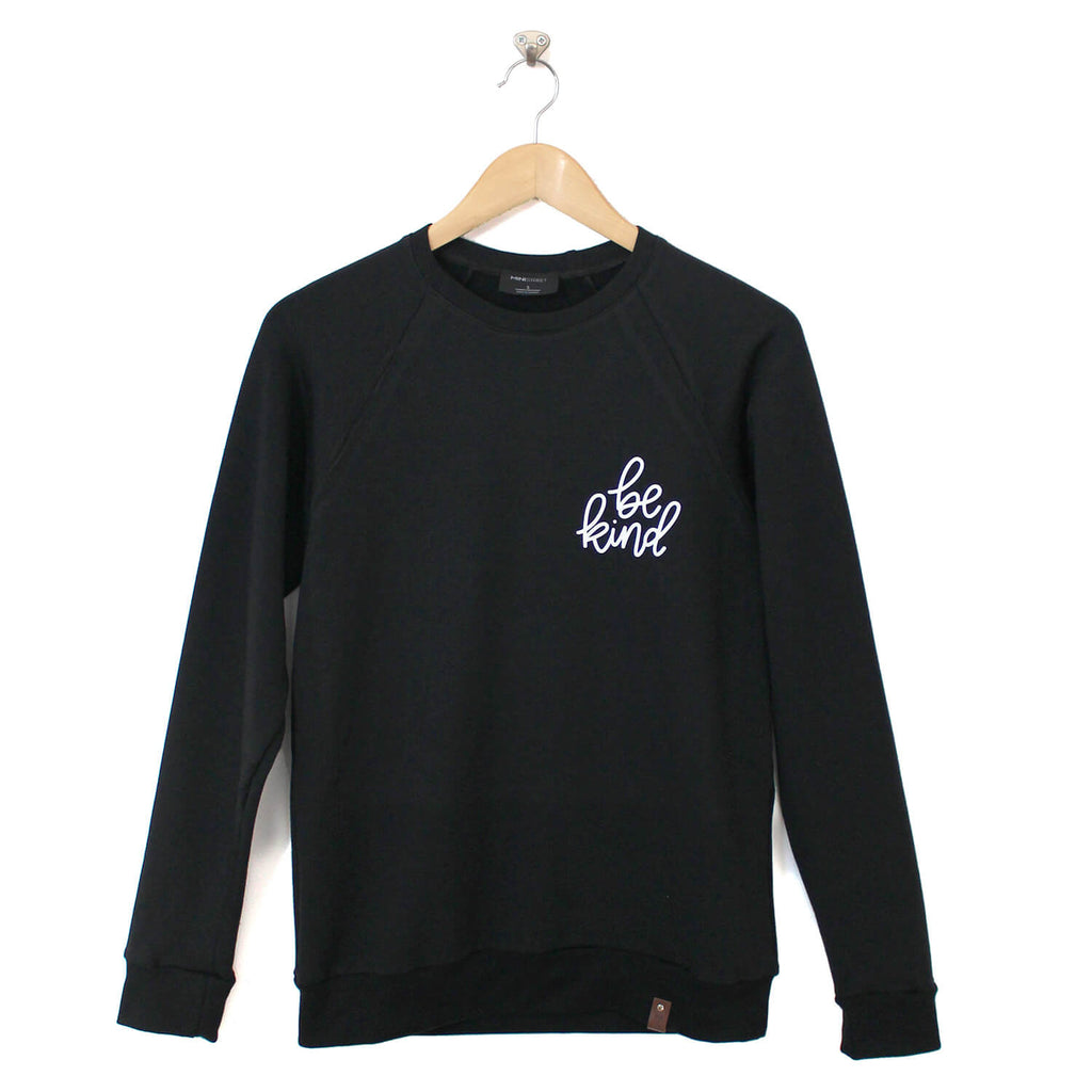 Be Kind Sweater - Adult - Black