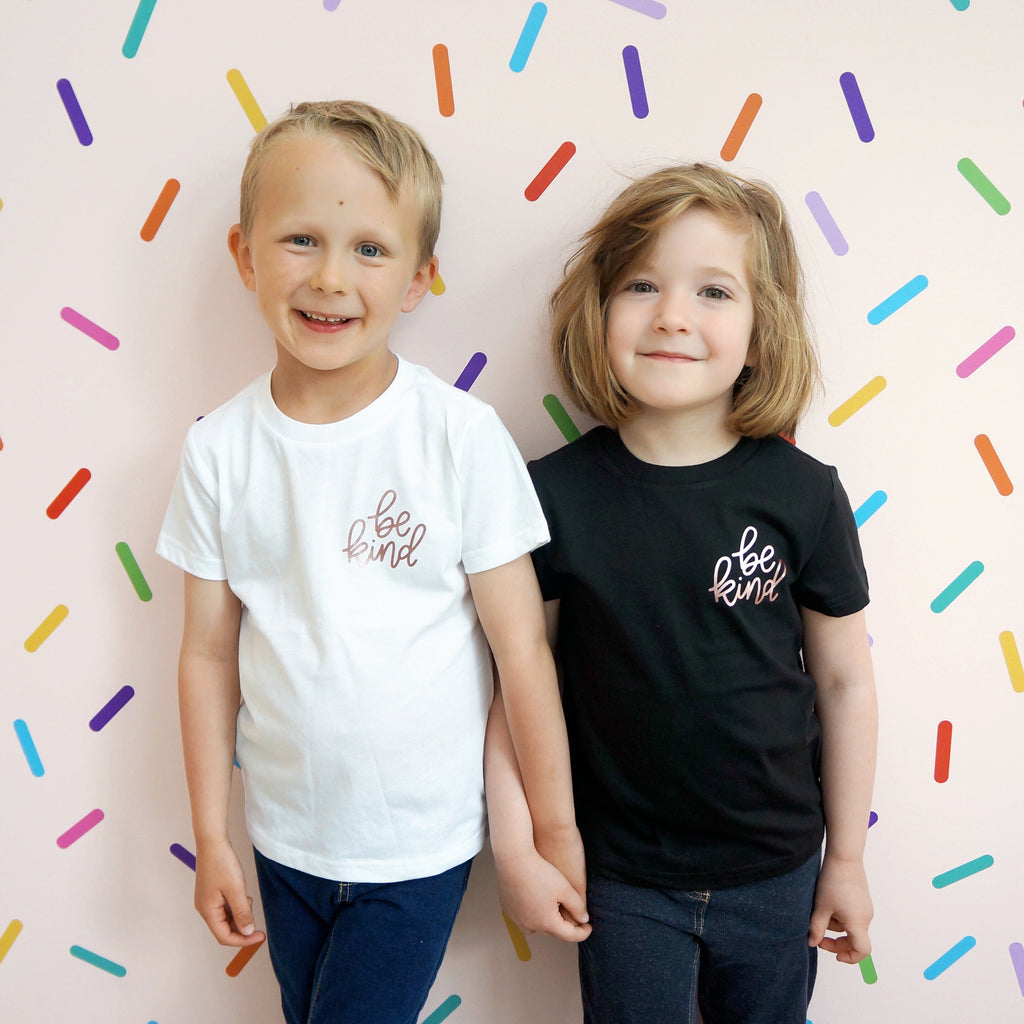 Tee - Be Kind - Kids - Multi colours