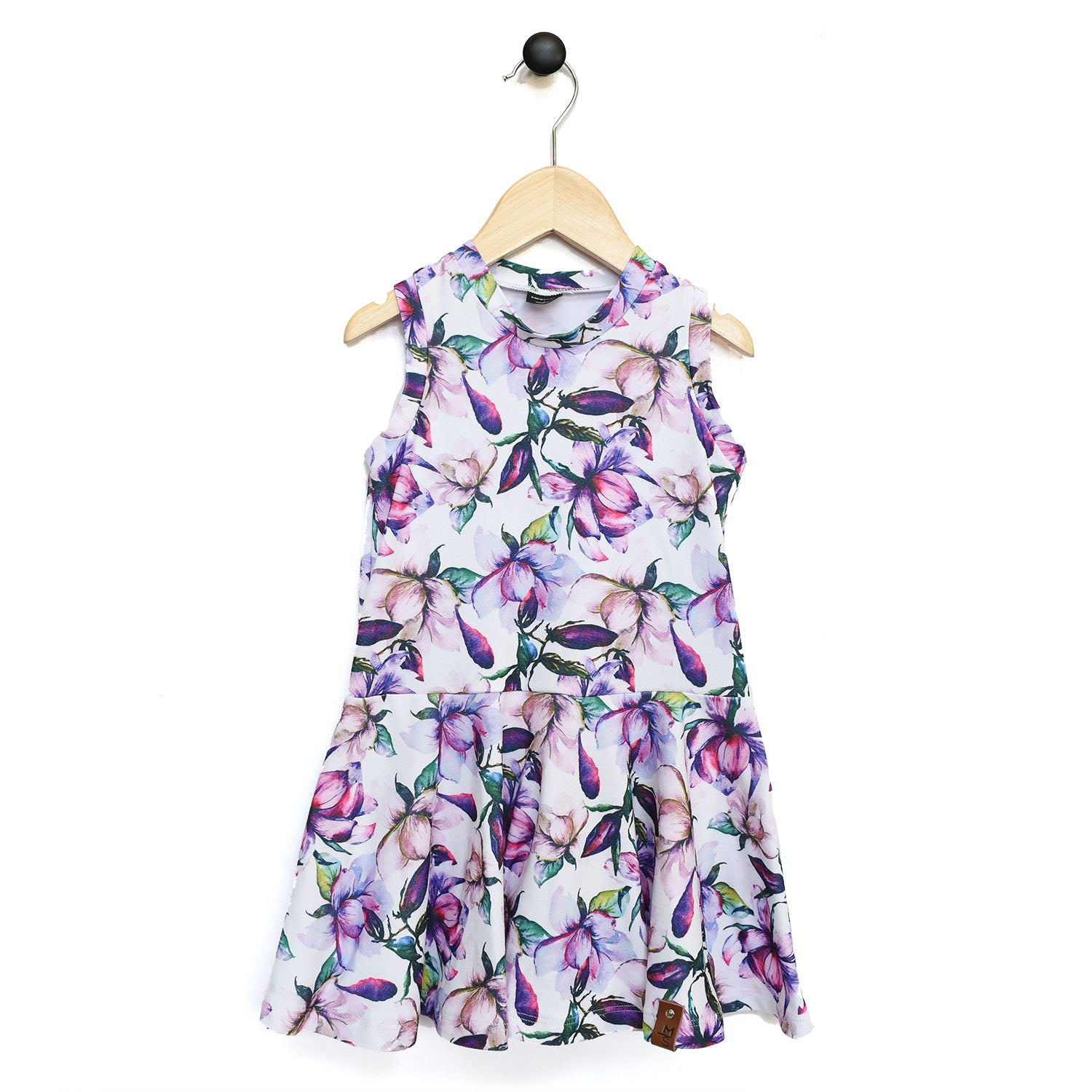 Bella Tank Twirl Dress - Purple Magnolia