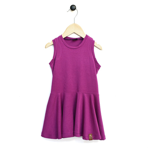 Bella Tank Twirl Dress - Purple