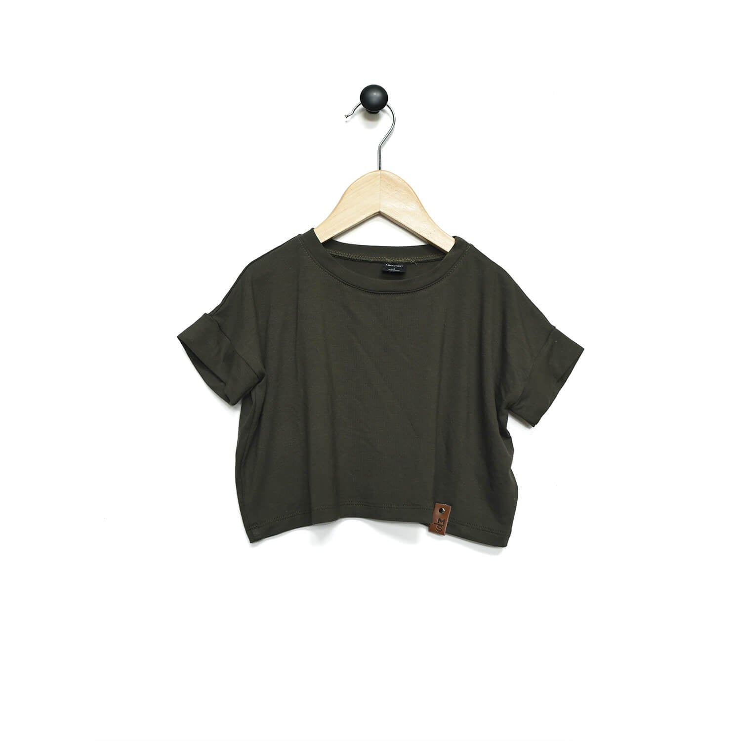 Blaire Crop Top - Olive