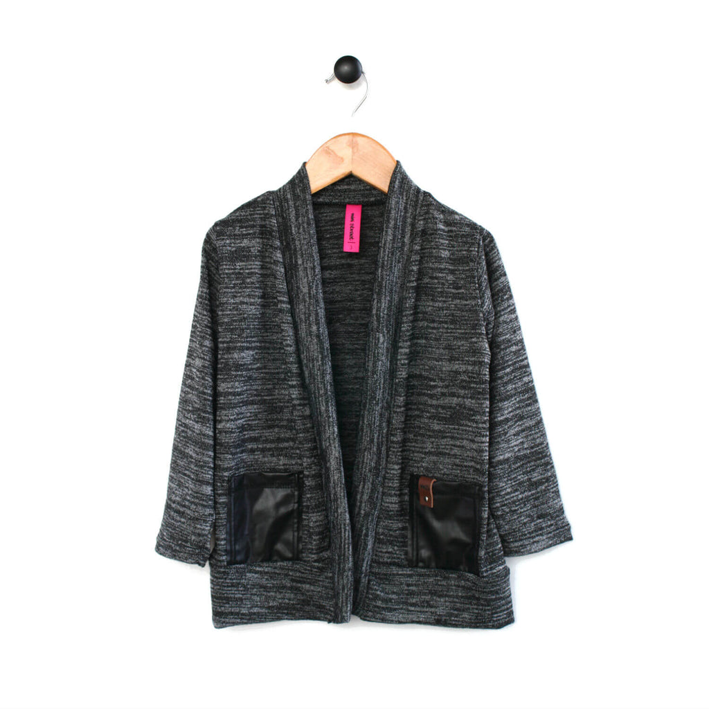 Brook Cardigan - Charcoal