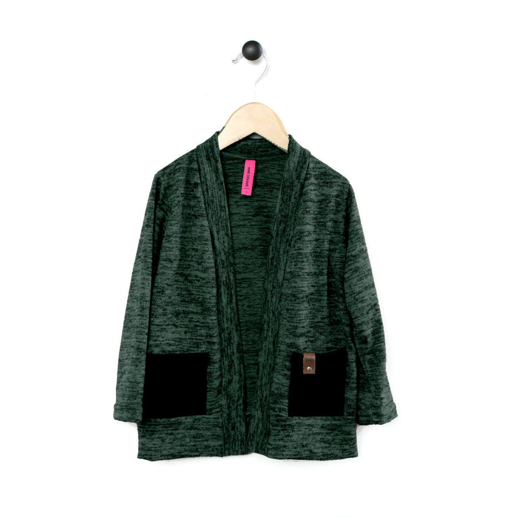 Brook Cardigan - Evergreen