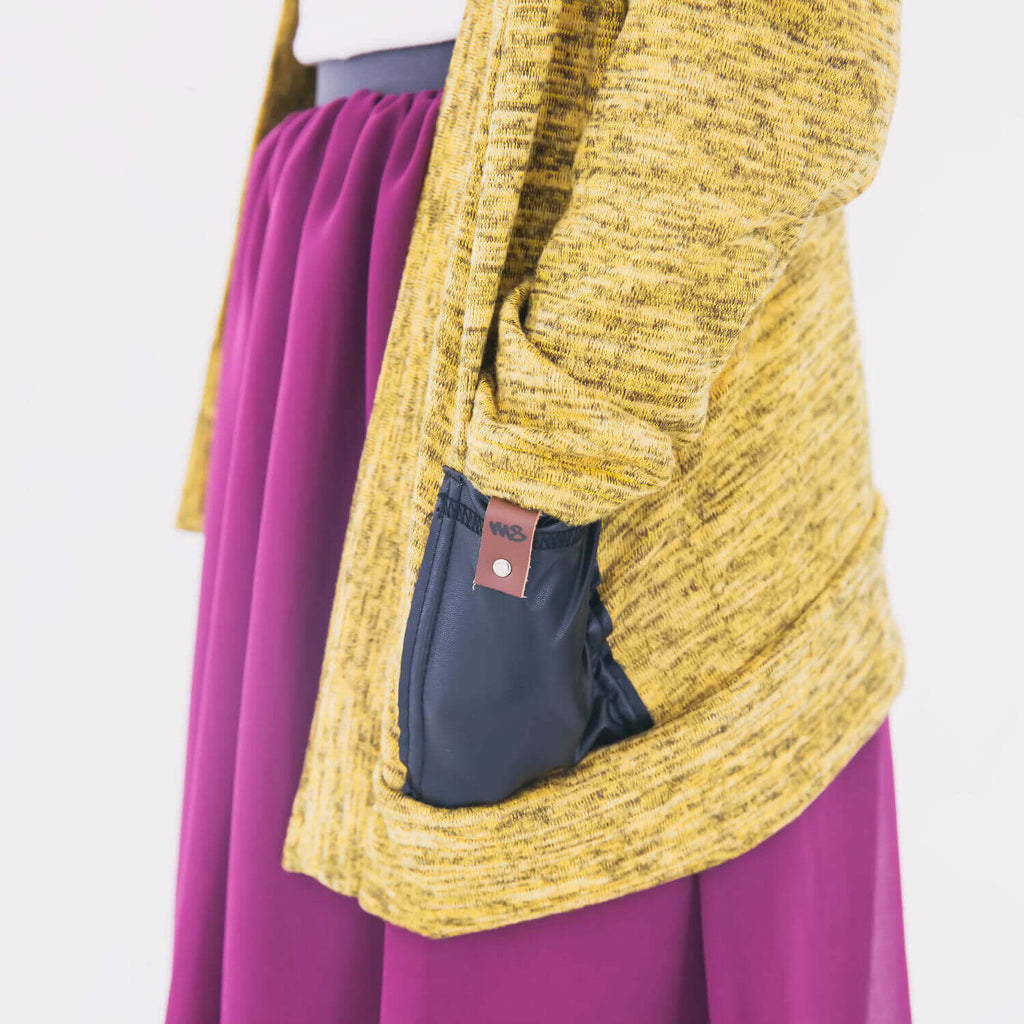 Brook Women's Cardigan - Mustard