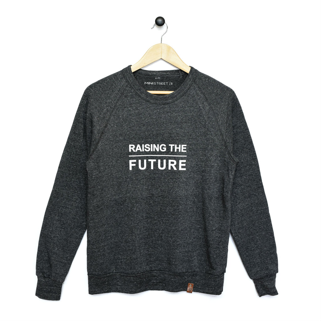 Charlie Crew Sweater - Raising the Future