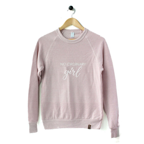 Charlie Crew Sweater - No Ordinary Girl - Multi Color