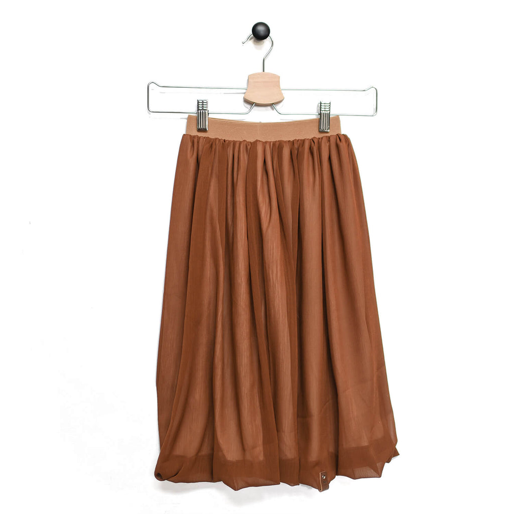 Chelsea Maxi Skirt - Auburn Brown