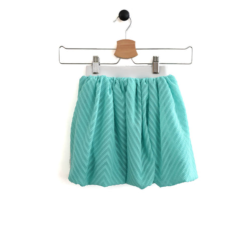 Chelsea Midi Skirt - Ocean waves