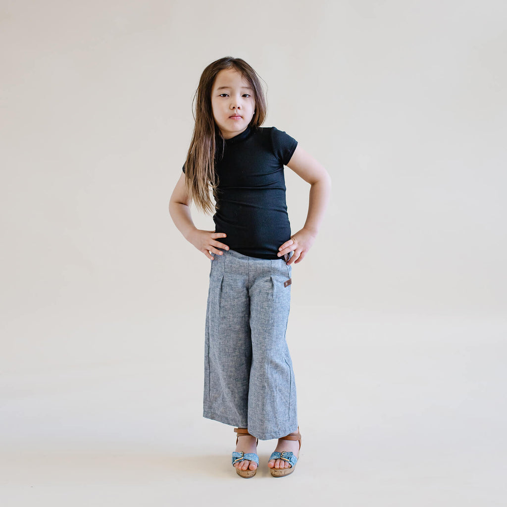 Sailor Pants - Chambray