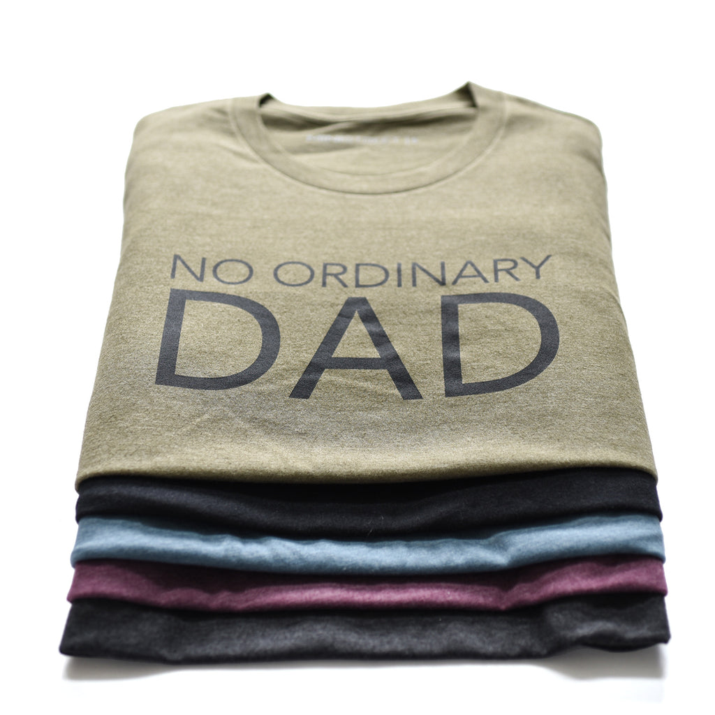 Tee - No Ordinary Dad - Multi colours
