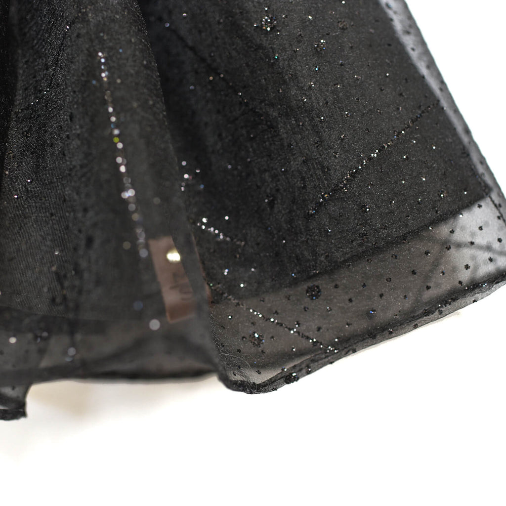 Evalina Tutu Skirt - Black Sparkle