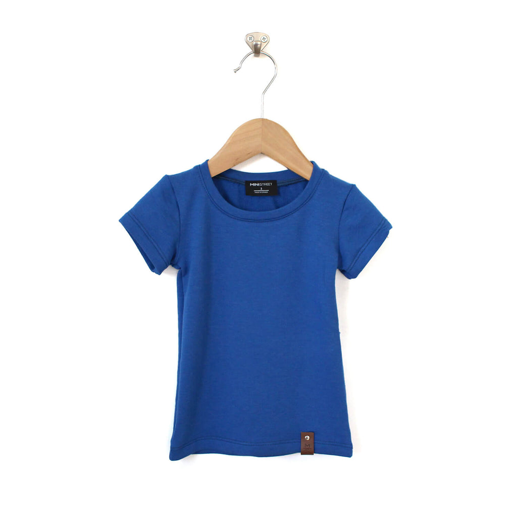 Mae Fitted Tee - Blue