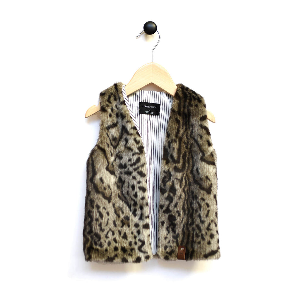 Naomi Vests -  Snow Leopard