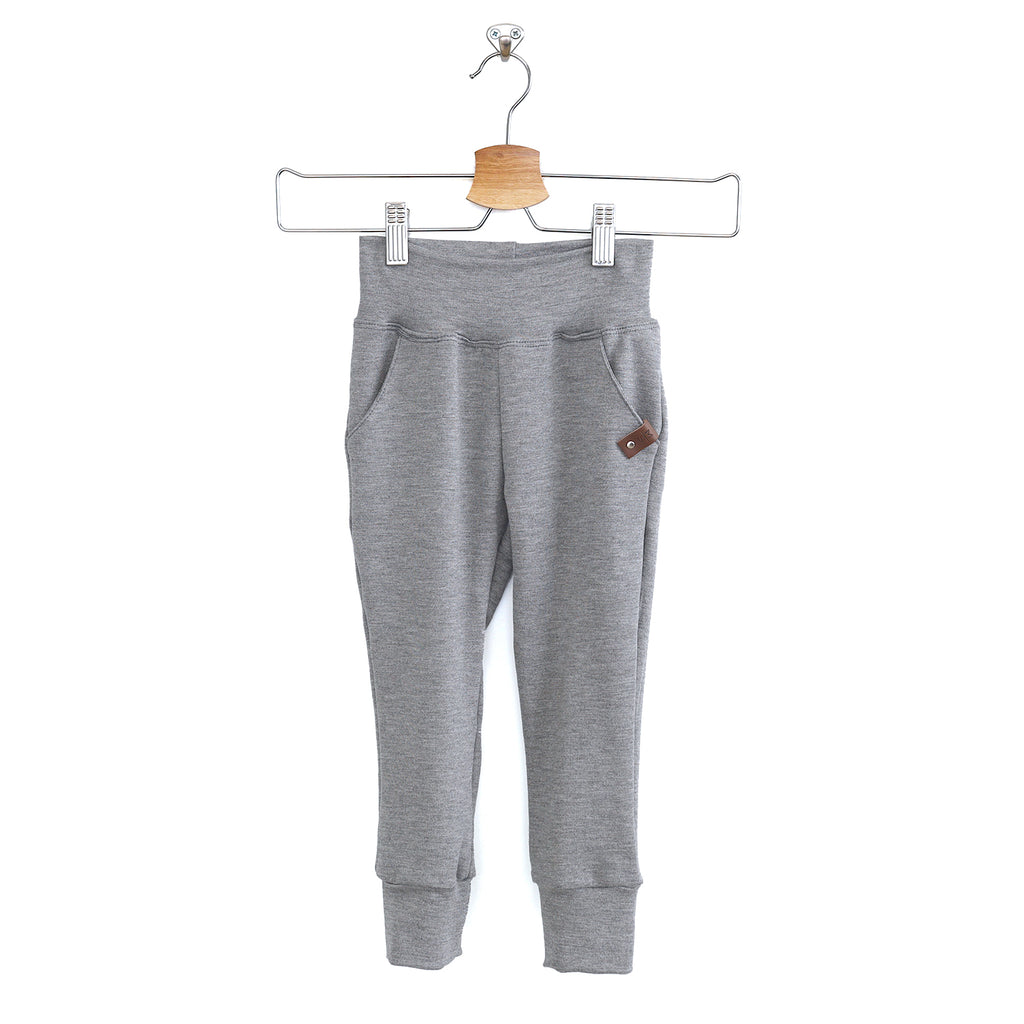Harlow Joggers - Stone French Terry