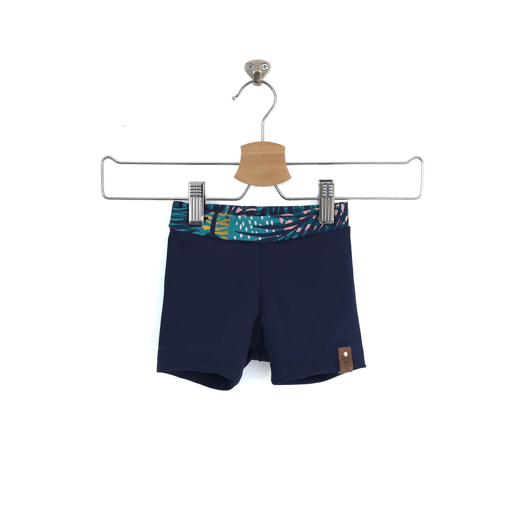 Hudson Euro Swim Shorts - Navy