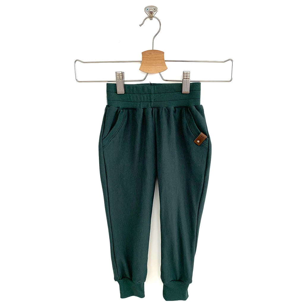 Hux Joggers - Hunter Green
