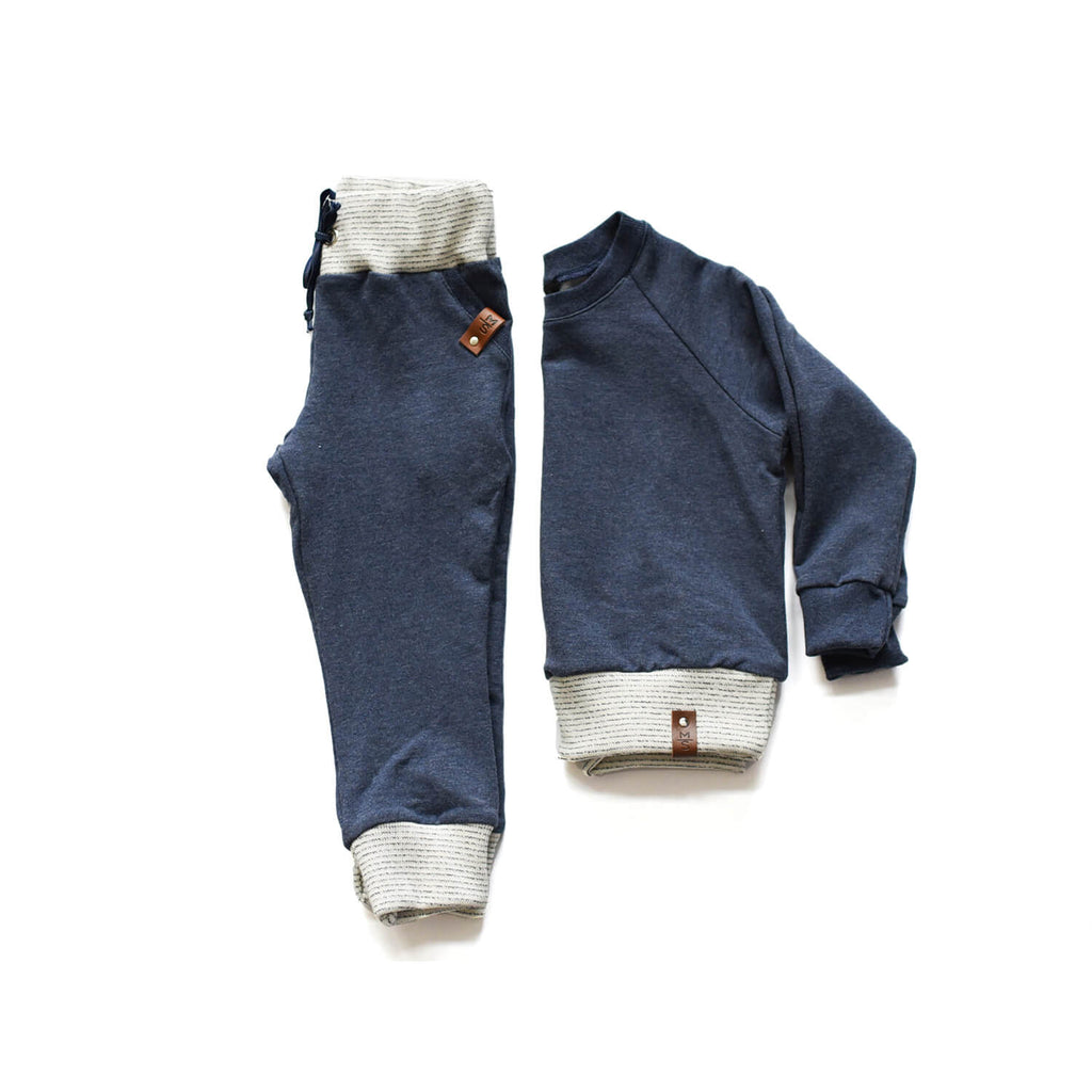 Jaxon Crew Sweater - Navy