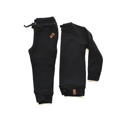 Jaxon Crew Sweater - Black
