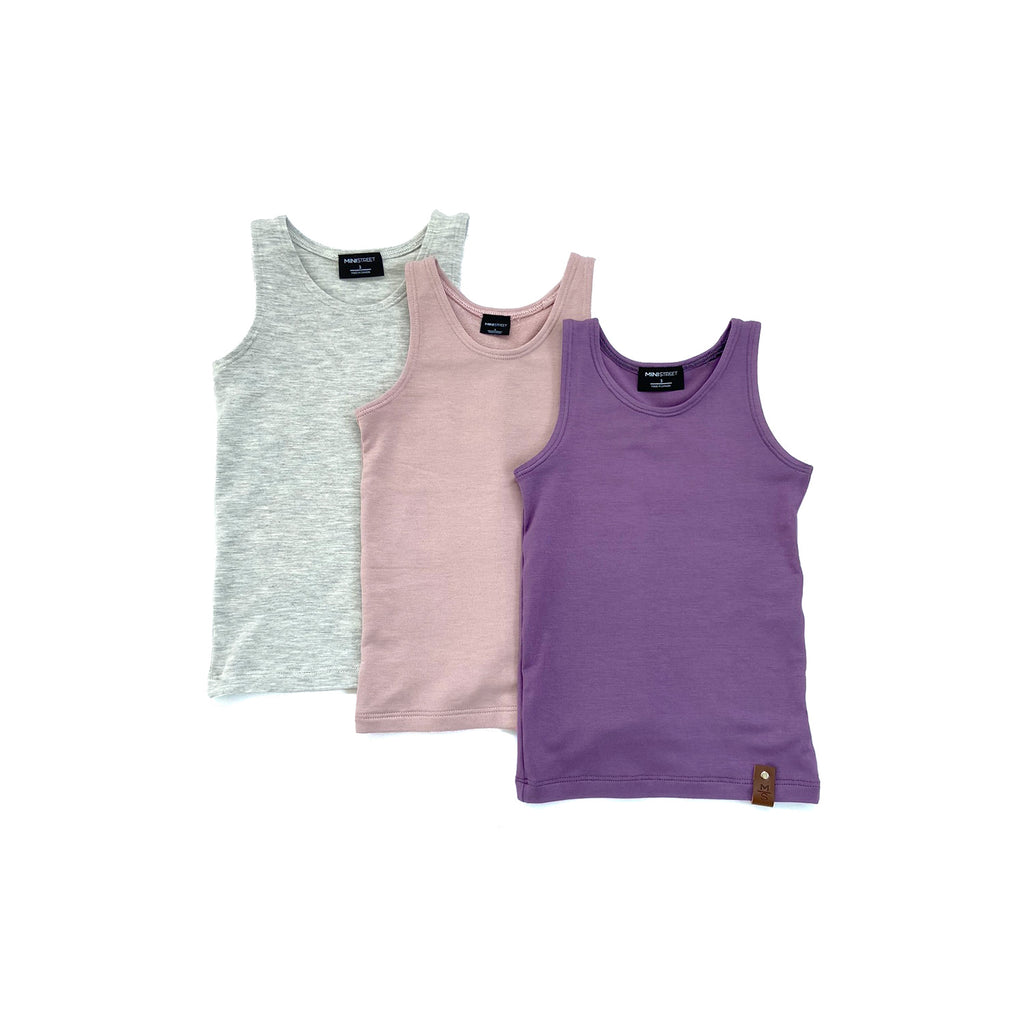 Mia Fitted Tank - Hello Spring MULTI PACK