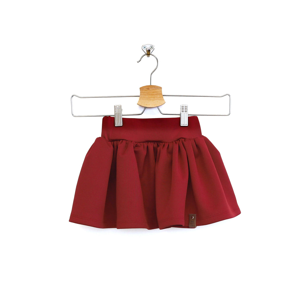 Joslyn Skirt -  Bordeaux Red