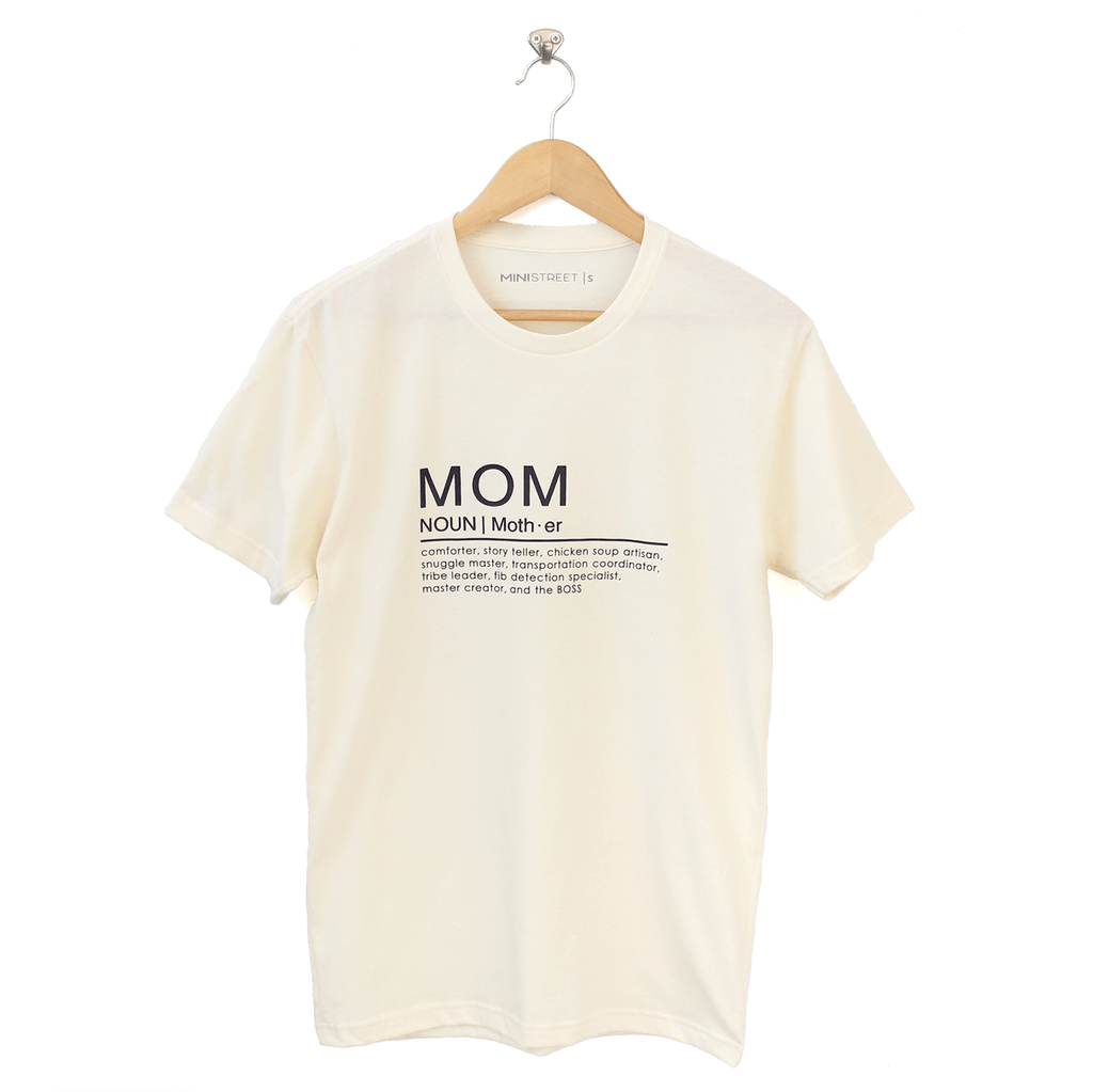 Tee - Mom Definition - Multi colours