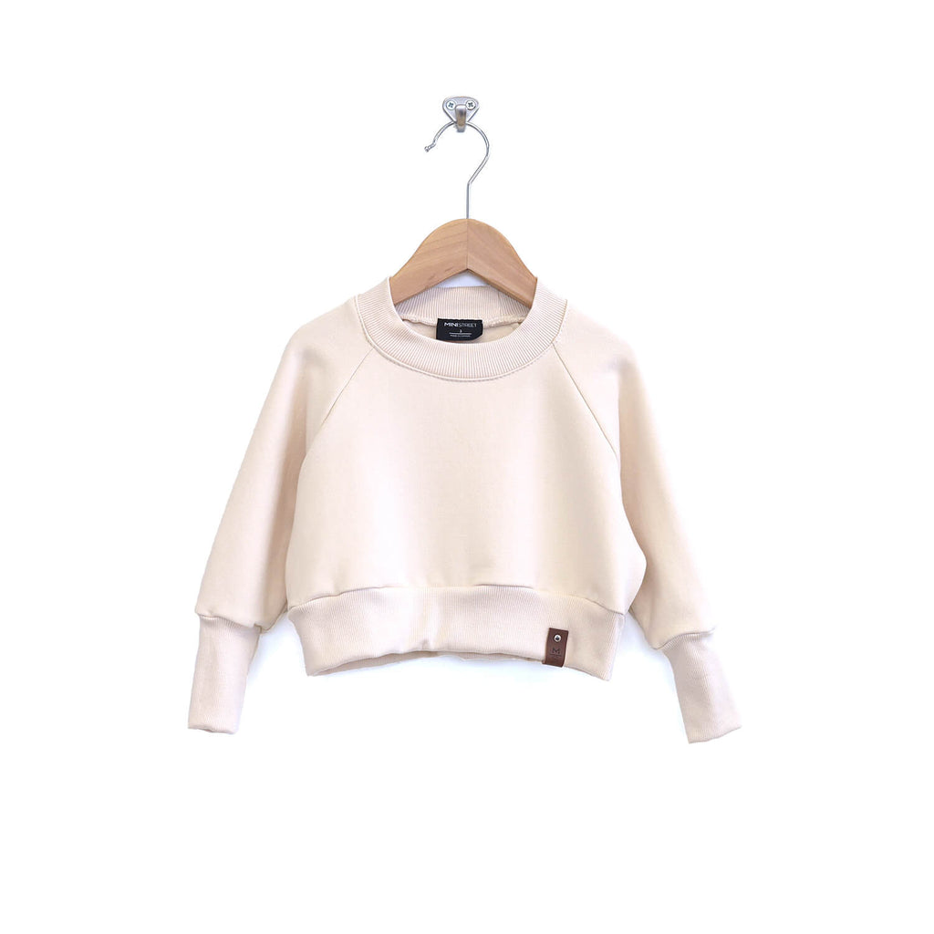 Josie Cropped Sweater - Ivory
