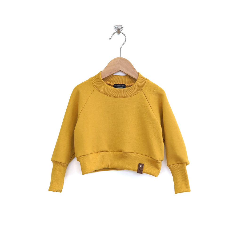 Josie Cropped Sweater - Dandelion