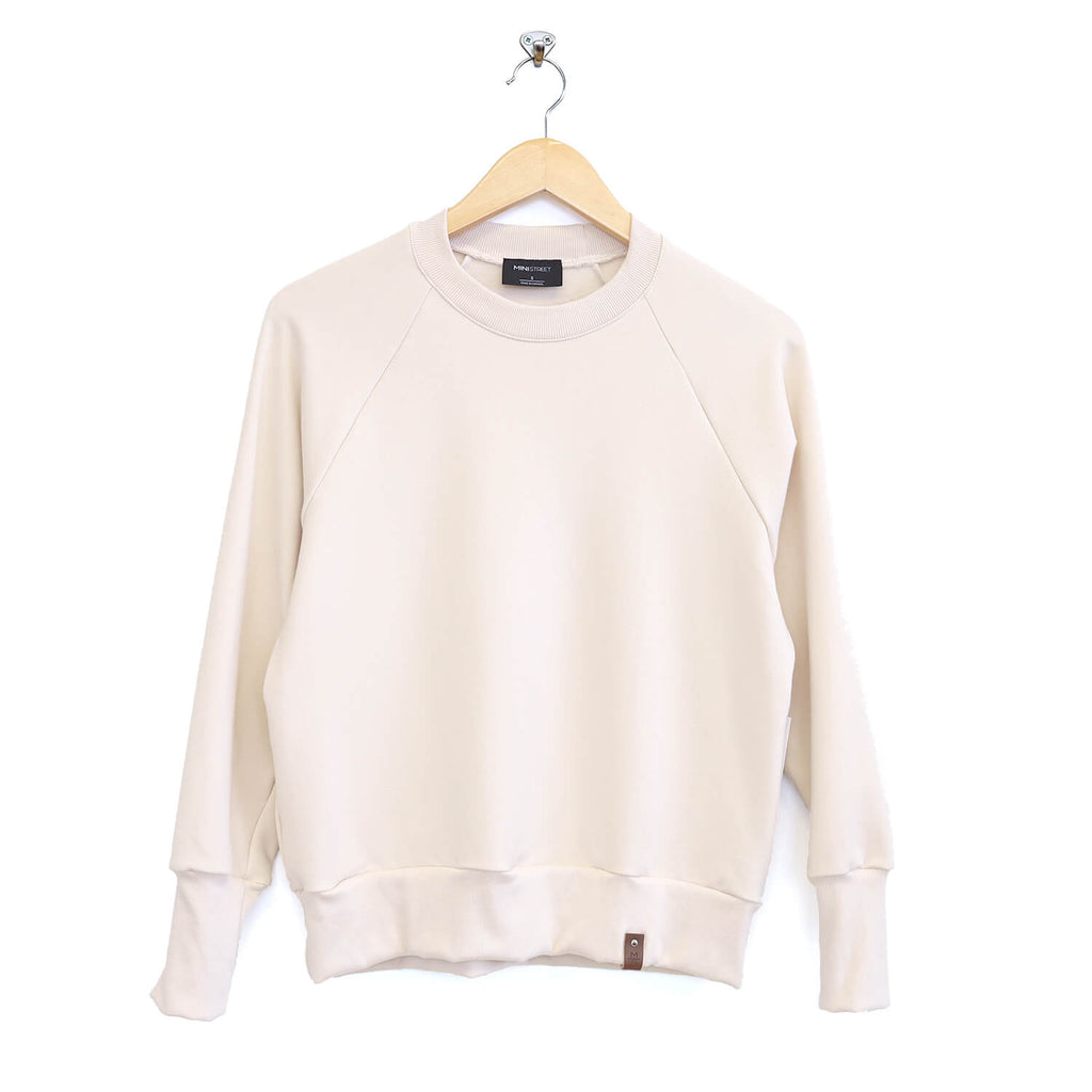 Josie Cropped Sweater - Adult - Ivory
