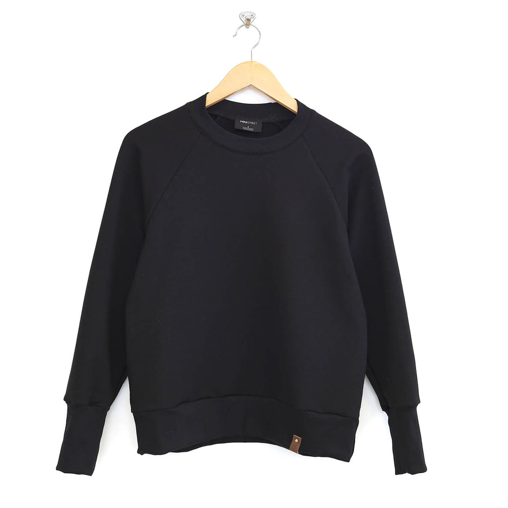 Josie Cropped Sweater - Adult - Black