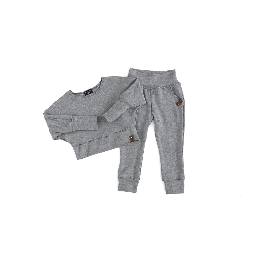 Harlow Joggers - Adult - Stone French Terry