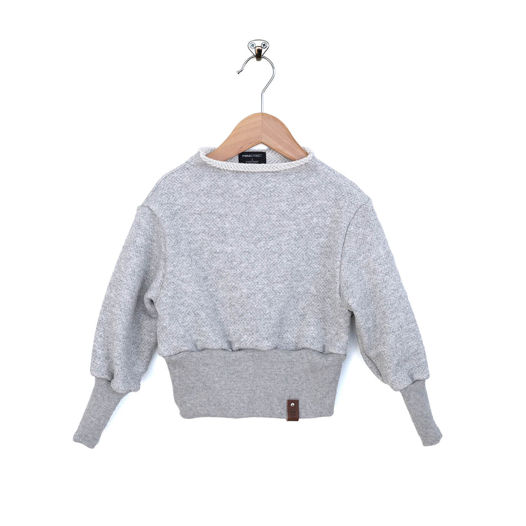 Indie Sweater - Ash Gray