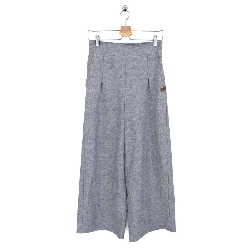 Sailor Pants - Women - Chambray