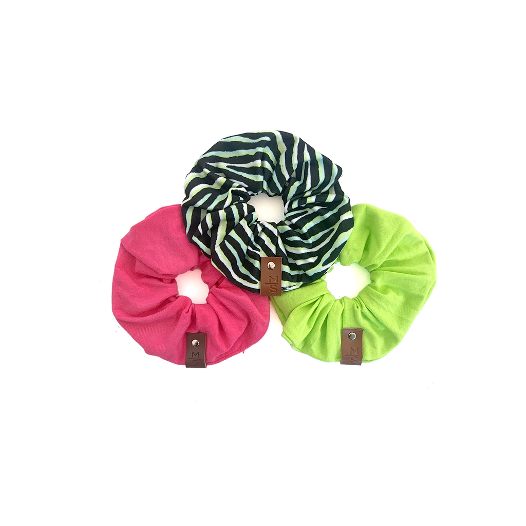 Scrunchie - Retro Neons