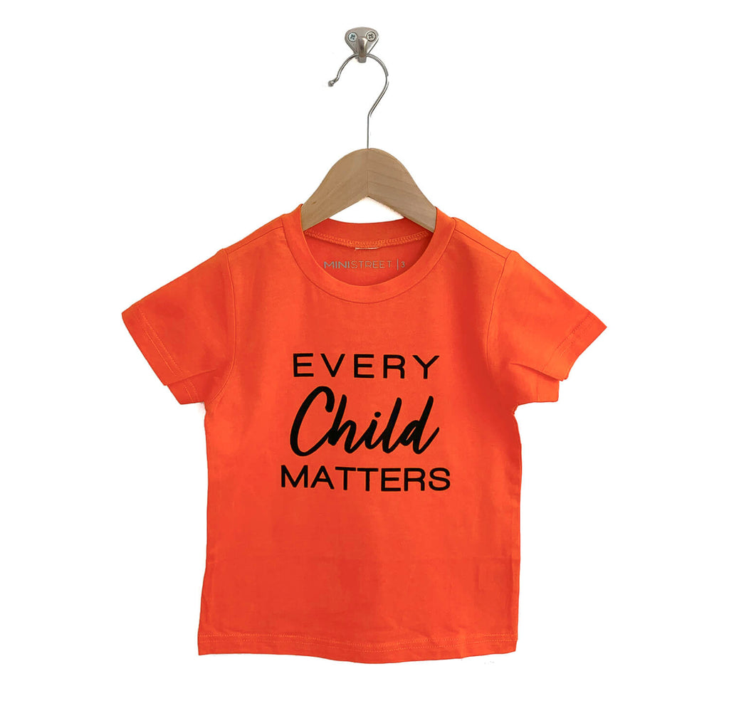 "Tee - Every Child Matters - Kids Orange ""Limited Edition"""