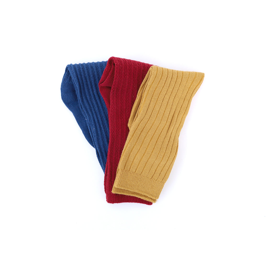 Socks (3pk) - Navy-Cork-Red