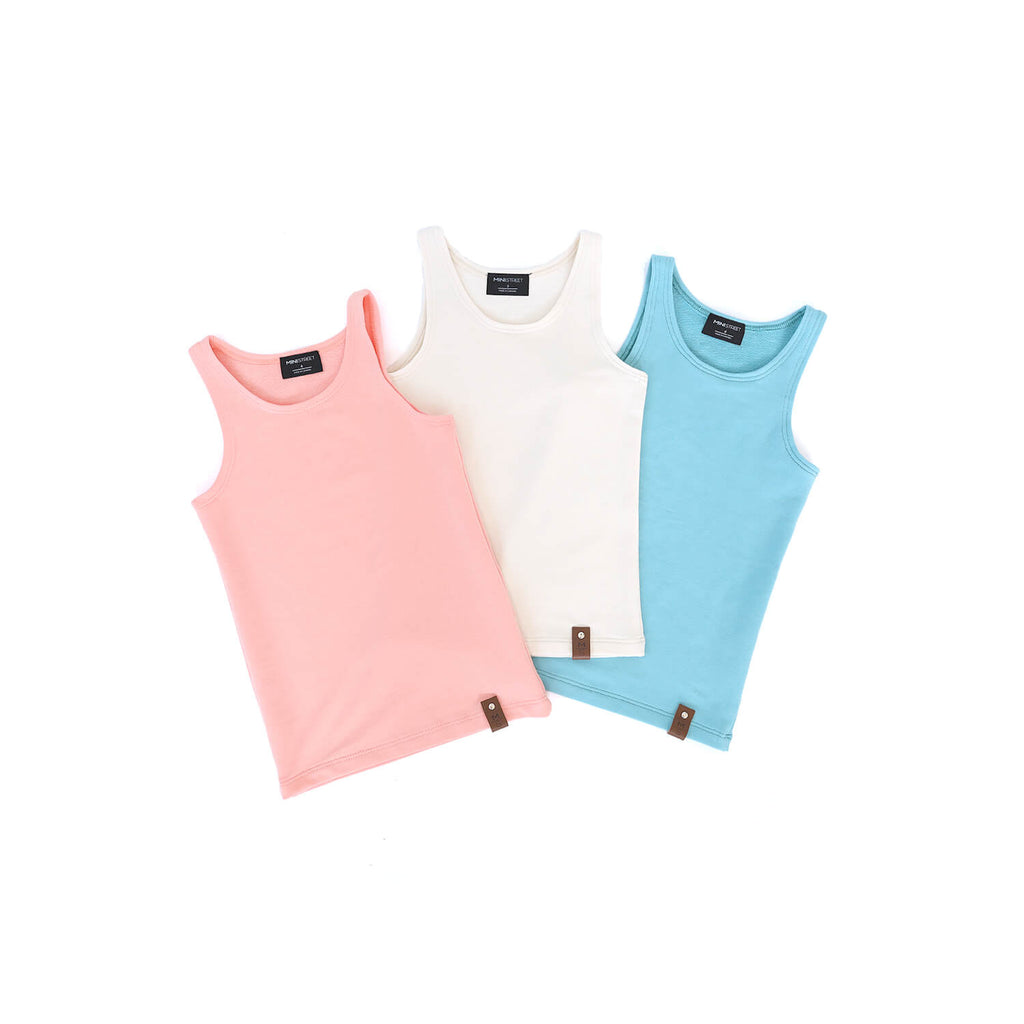 Mia Fitted Tank - Summer Days MULTI PACK