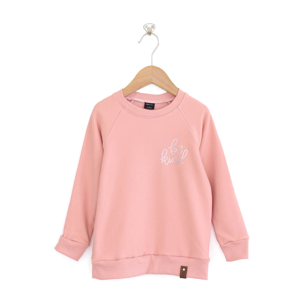 "Be Kind Sweater ""Rose Gold"" Edition - Kid - Pink"