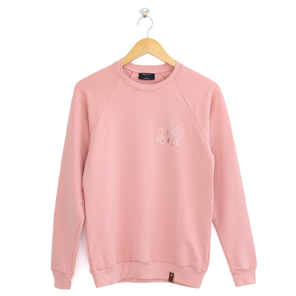 "Be Kind Sweater ""Rose Gold"" Edition - Adult - Pink"