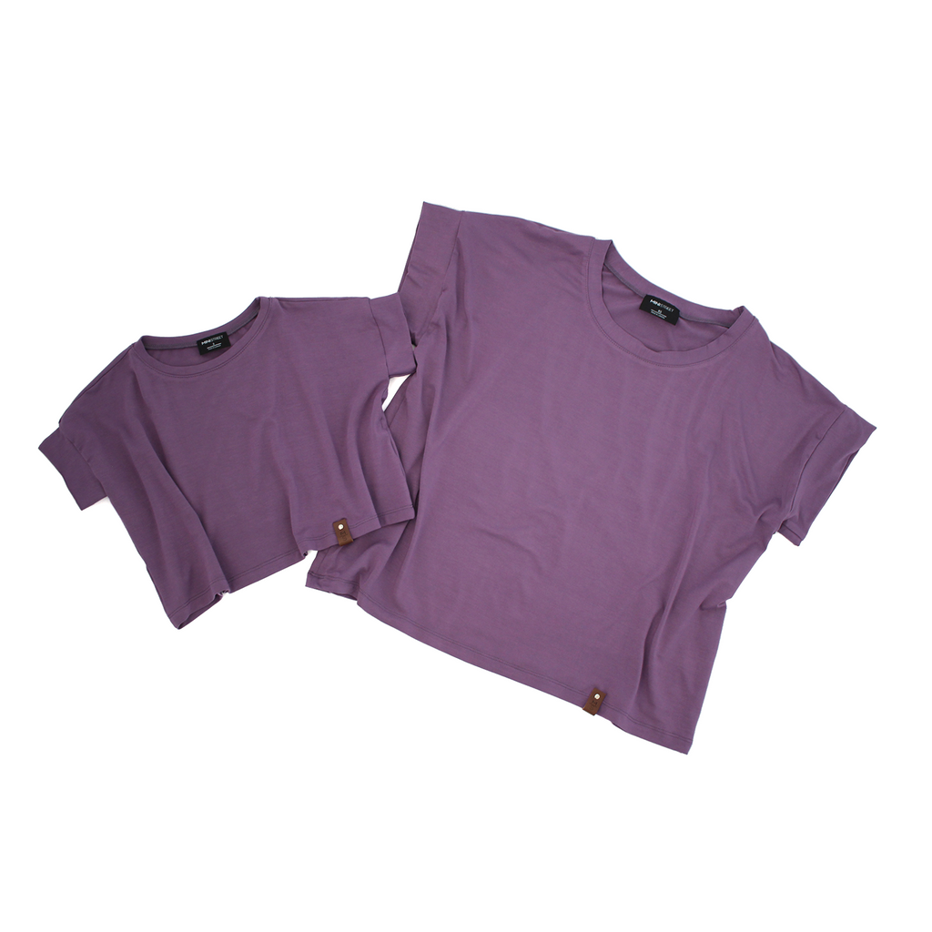 Blaire Crop Top - Lilac