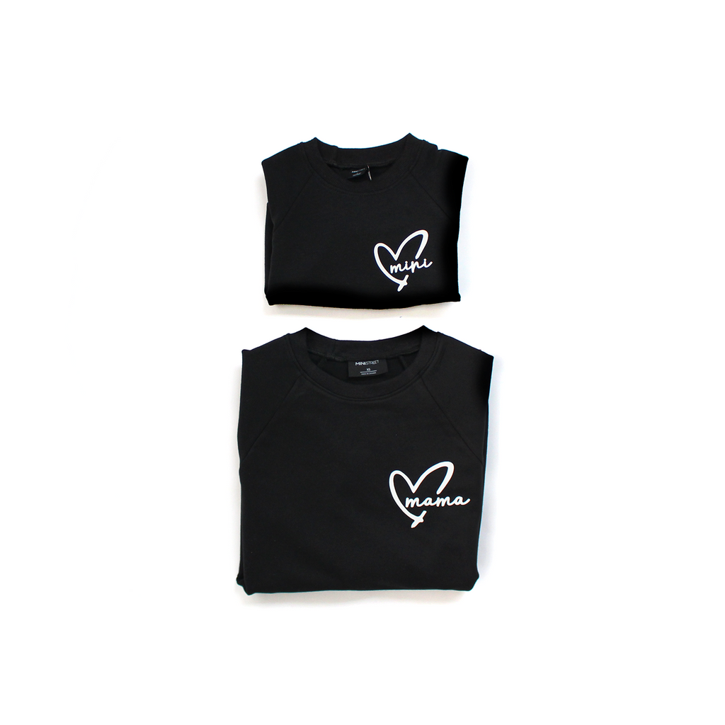 Jaxon Crew Sweater - MINI Heart