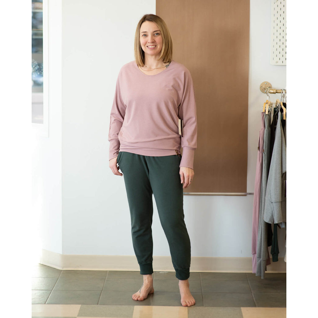 Ireland Dolman Top - Adult - Rose Rib