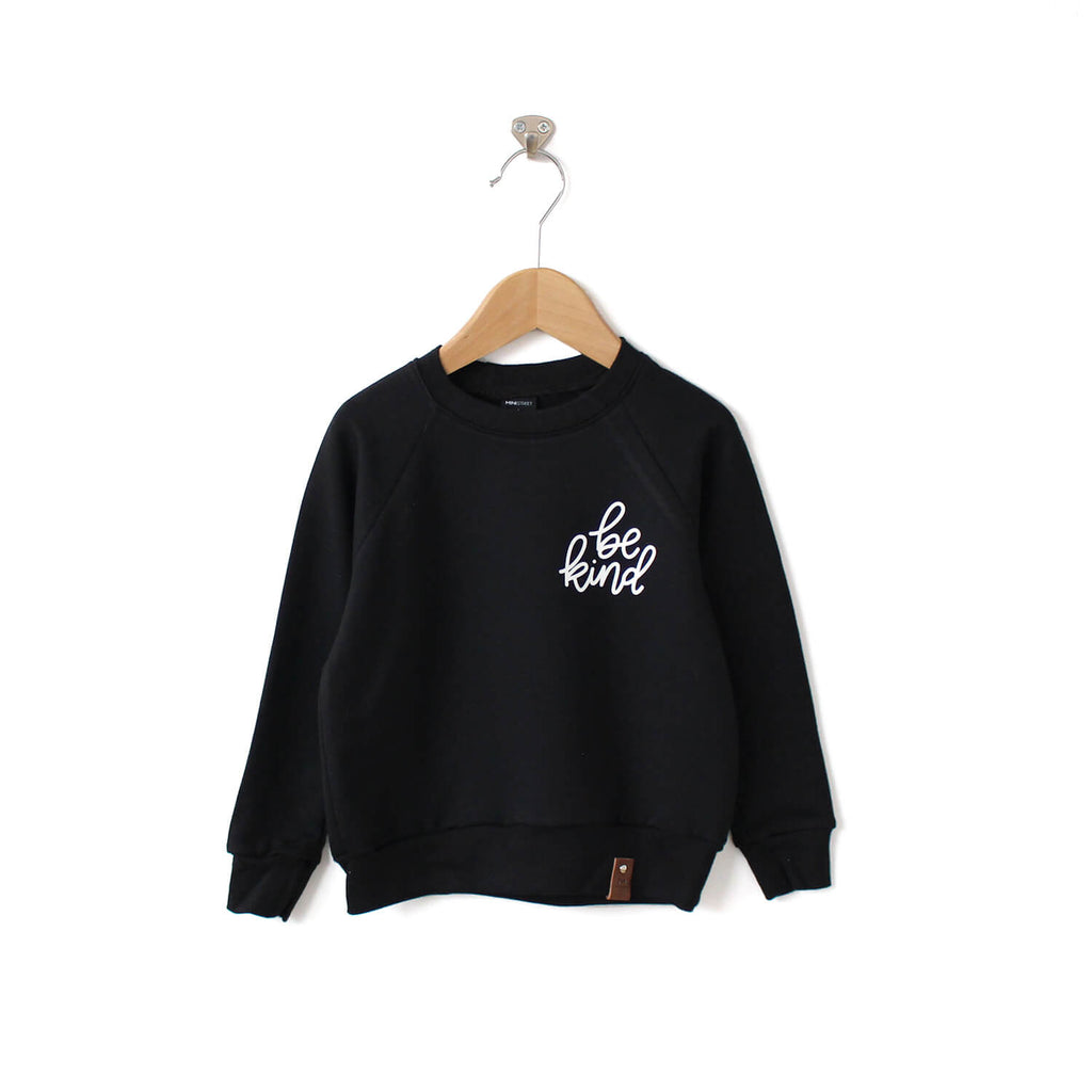 Be Kind Sweater - Kid - Black