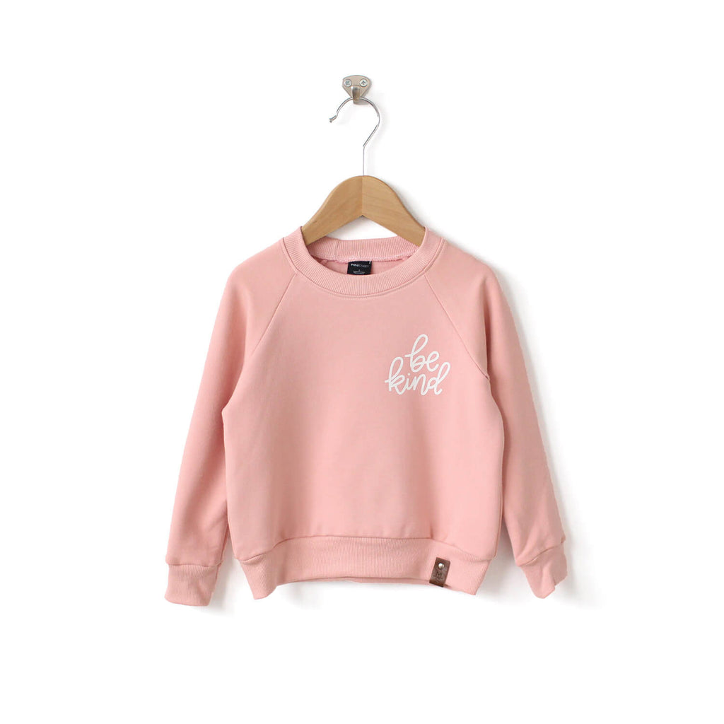 Be Kind Sweater - Kid - Pink