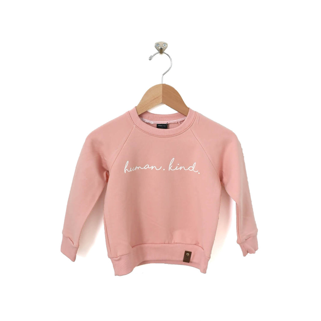 Jaxon Crew Sweater - Human Kind - Pink